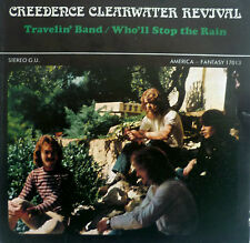 "7"" CREEDENCE CLEARWATER REVIVAL : Travelin´ Band /VG"