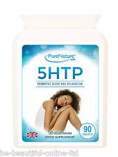 90 comprimidos de alta resistencia 5-HTP 5HTP potentes de 300mg al día serotonina pérdida de peso