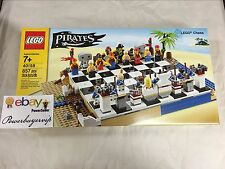 NEW LEGO 40158 Pirates Chess Board 857 Pieces Bluecoats 2 DAY GET