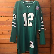 Randall Cunningham Mitchell & Ness Philadelphia Eagles Throwback Jersey, Size 60