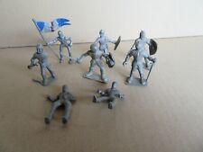 994I Lot de 8 Soldats du Moyen âge