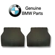 BMW E83 X3 Rear Floor Mat Set All Weather Rubber Black Genuine 82 11 0 305 176