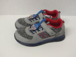 Toddler Boys Surprize Stride Rite Ardo Light-Up Sneakers Size 11M 12M -Gray