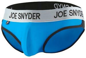 Joe Snyder Mens Enhancing Underwear Shining Active Wear Bikini 01 Brief Sporty