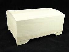 PLAIN Legno Storage Box 3 SCOMPARTI E SPECCHIO DECOUPAGE artigianale