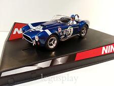 """SCX Scalextric Slot Ninco 50303 AC Cobra """"Le Mans"""" Nº63"""