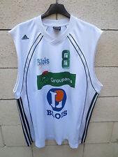Maillot basket porté n°8 BLOIS Adidas match worn shirt XXL Climalite
