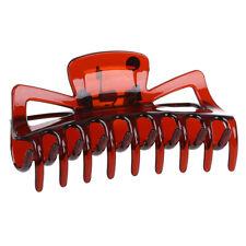 Frauen Braun Kunststoff Badewanne Haarspange Haarklammer Haarspange Klaue