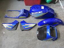 Suzuki GS125  body kit  panels tank mudgaurds etc New in  Blue   UK seller