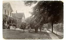 Millerton NY - HOUSES ON SIMMONS STREET - Postcard Eggleston