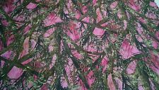 "1000D COATED WATERPROOF CORDURA HUNTING 60"" CAMO FABRIC TRUE TIMBER MC2 PINK DWR"