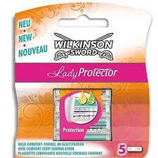 Wilkinson Sword Lady Protector Pack 5 Des Lames De Rasoir Pour Femmes