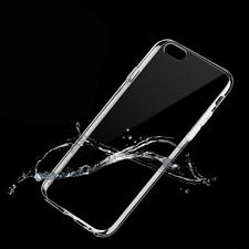 Apple iPhone 7 Silikon-Hülle TPU  transparent Schutzhülle Tasche Schutz Etui NEU
