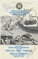 1992 Daytona Rotary NASCAR Brochure Signed By PETTY YUNICK ECONOMAKI JARRETT