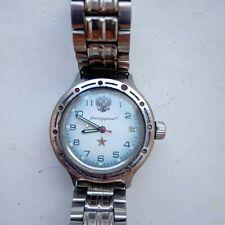 New listing Amphibian Wostok Navy commander automatic wrist watch working