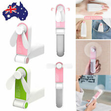 Handheld Mini Fan Outdoor Hiking USB Rechargeable Portable Foldable Electric Fan