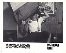 Last House on the Left Sean S. Cunningham Wes Craven 1972 8x10 Photo Lobby Card