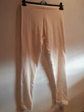 Cream/red Spot Leggings.  Size Small (10-12). New