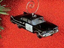 NEW 1959 Dodge Coronet Old-Fashioned Police Car Custom Christmas Tree Ornament