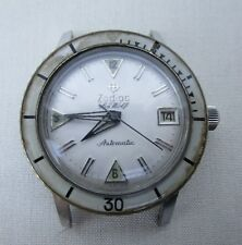 VINTAGE ZODIAC SEAWOLF AUTOMATIC DIVER MENS WATCH CERAMIC BEZEL