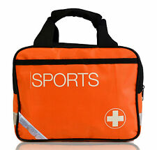 New Medical / Run On Physio Sports Grab Bag in Hi Viz Orange/Black & Reflectors