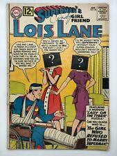 LOIS LANE #38 1963 DC COMIC SILVER AGE THE INVISIBLE LOIS LANE!