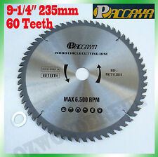 "Circular Saw Blade(235mm) 9-1/4""x 60 Teeth Timber Aluminum Alloy Plastic Cutting"