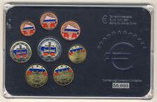 SLOWAKEI - EURO Kursmünzensatz 2009 mit FARBAPPLIKATION und ZERTIFIKAT (8)