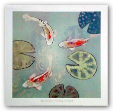 AQUATIC ART PRINT Floating Motion II Aleah Koury