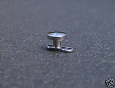 Steel MicroDermal Anchor 14g 14 gauge 2mm rise 4mm disc