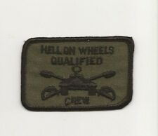 2nd Armored Division Tank Crew Qualification patch