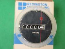 REDINGTON COUNTERS 710-0002 HOUR TIMER METER INSTRUMENT PANEL GAUGE COUNTER