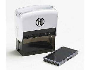 ID protector Stamp Protects Against Fraud Covers Confidential Information Papers