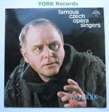 1 12 1164 - FAMOUS CZECH OPERA SINGERS - IVO ZIDEK - Excellent Con LP Record