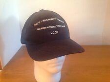 Port Authority Of NY NJ Path Response Exercise 2007 Baseball Hat Cap Snap Back