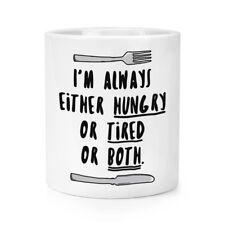 Sono sempre affamato stanca o entrambi trucco pennello matita Pot-Divertente