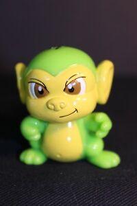 NEOPET'S -  Neon Green MYNCI Monkey - PVC Figurine - Thinkway Toys