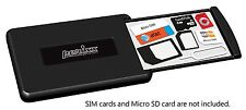 Perixx PERIPRO-402, Simkartenhalter Aufbewahrung Box iPhone Samsung Sony HTC