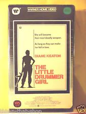 The Little Drummer Girl (1984, VHS) Diane Keaton Rare CLAMSHELL FREE PRIORITY !