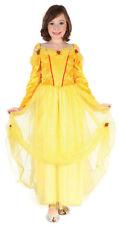 Déguisements jaunes princesse pour fille