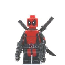 Custom Printed DEADPOOL Lego Minifigure -Genuine Lego, Pad Printing- NEW