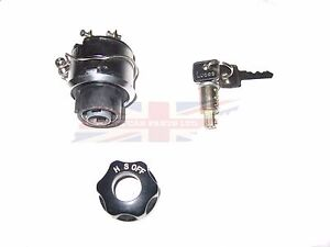 New Combination Light Ignition Switch Austin Healey Sprite 1958-61 Bugeye 3 PC