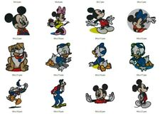 COLLECTION 750 DISNEY CHARACTERS PES EMBROIDERY MACHINE PATTERNS MICKEY MINNIE +