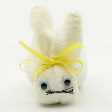 Handmade Easter Bunny Rabbit Easter Decoration Made from White Wash Cloth NR