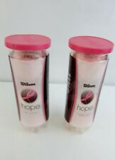 Wilson Sporting Goods Hope Pink Tennis Ball - All Court Extra Duty Pack of 3