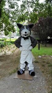 husky Mascot Costume Cosplay Party Game Dress Outfit Advertising Halloween 2019