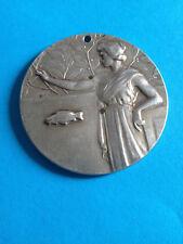 Médaille Argent 1er Prix Concours de Pêche 1931 / French Silver Medal