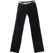 Pantalones pana niña de A58 , negro ,talla 14