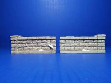 DEPARTMENT 56 - STONE WALL - HERITAGE VILLAGE - SET OF 2 - 56.52689