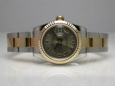 ROLEX 179173 OYSTER PERPETUAL DATEJUST TWO TONE AUTOMATIC LADIES WATCH D SERIAL